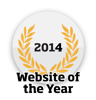 Website of the year 2014